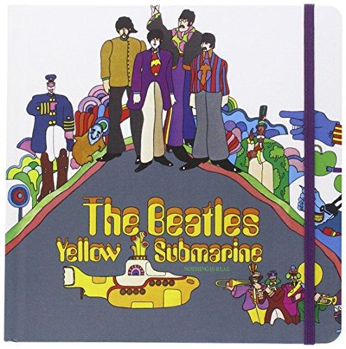 The Beatles Yellow Submarine Album Cover Luxury Notebook