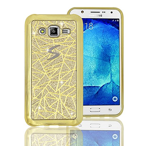 Samsung Galaxy J5 J500 2015 Coque Samsung Galaxy J5 J500 2015 TPU Souple Phone Case pour Samsung Galaxy J5 J500 2015 TPU Coque pour Samsung Galaxy J5 J500 2015 Silicone Étui,Vandot Samsung Galaxy J5 J500 2015 Souple Housse de Protection Swag Coque Samsung Galaxy J5 J500 2015 Case Electroplating TPU Cas de Couverture Absorbant Chocs Anti Rayures Housse-Or