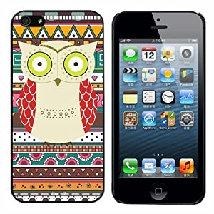 Cocoz® 2013 Releases Iphone 5g Case Retro Style Owl Aztec Andes Tribal Pattern Iphone 5 Cases Black Pc+pearlescent Aluminum -0317 by by 7-14 DAYS TO USA by CocoZ