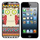Cocoz® 2013 New Releases Iphone 5g Case Retro Style Owl Aztec Andes Tribal Pattern Iphone 5 Cases Black Pc+pearlescent Aluminum -0317