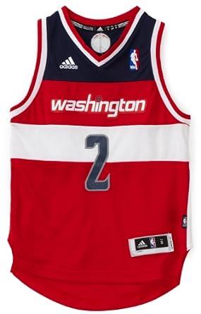 NBA Washington Wizards John Wall Swingman Road Jersey - R28E2Zzv Youth by adidas