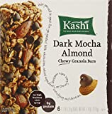 Kashi Chewy Granola Bars, Dark Mocha Almond, 6 bars, 7.4 Ounce (Pack of 6)