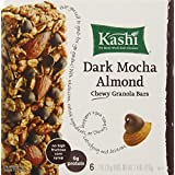 Kashi Chewy Granola Bars, Dark Mocha Almond, 7.4 Ounce (Pack Of 6)