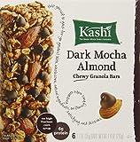 Kashi Chewy Granola Bars, Dark Mocha Almond, 6 bars, 7.4 Ounce (Pack of 6)