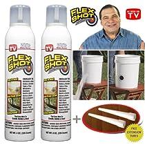 Flex Shot White - 2 Cans