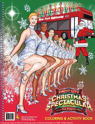 Radio City Christmas Spectacular starring The Rockettes 2012 (8.5 x 11)