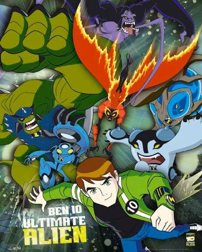 Poster Ben 10 Ultimate Alien - ultimate group - Größe 40 x 50 cm - Miniposter