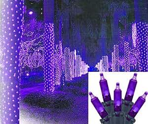 2 39 x 8 39 purple led net style tree trunk wrap. Black Bedroom Furniture Sets. Home Design Ideas