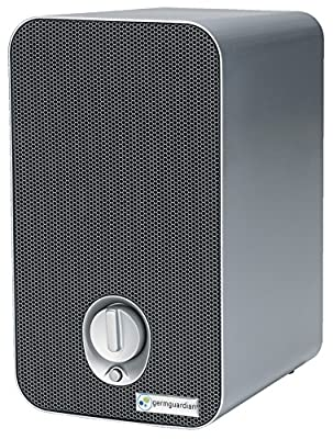 GermGuardian AC4100 3-in-1 HEPA Air Purifier System with UV Sanitizer and Odor Reduction, 11-Inch Table Top Tower