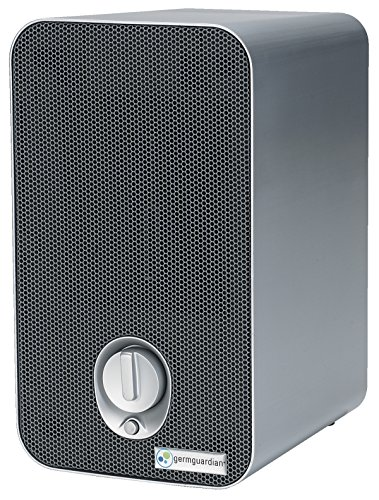 GermGuardian AC4100 3-in-1 Air Cleaning System with HEPA Filter, UV-C Sanitizer and Odor Reduction, 11-Inch Table Top Tower Air Purifier
