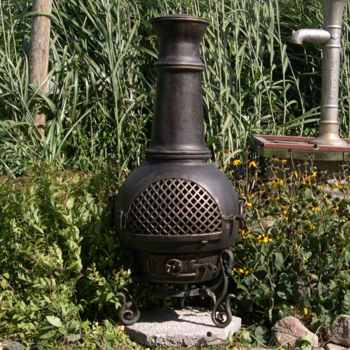 The-Blue-Rooster-Gatsby-Chiminea-in-Antique-Green