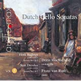 Dutch Cello Sonatas Vol. 5 by Doris Hochscheid/Frans Ruth