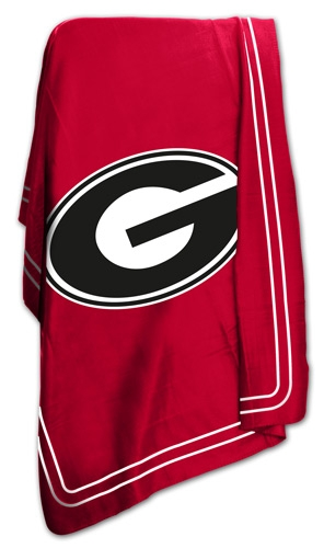University of Georgia Bulldogs UGA Fleece Blanket Throw (Uga Bulldogs compare prices)