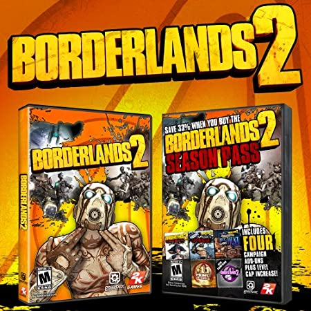 Borderlands 2 & Season Pass [Online Game Code]