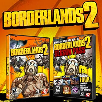 Borderlands 2 & Season Pass [Online Game Code]