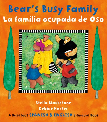 Bear's Busy Family (Barefoot Bilingual Spanish/Eng)