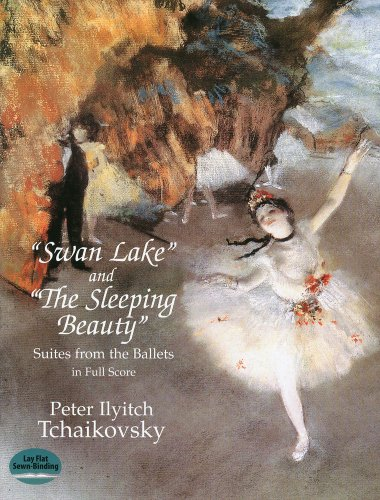 チャイコフスキー: バレエ組曲 「白鳥の湖」、「眠れる森の美女」/ドーヴァー社大型スコア