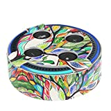 Fintie Protective Case for Amazon Echo Dot (Fits all-new Echo Dot 2nd Generation Only) - Premium Vegan Leather Cover Sleeve Skins, Love Tree