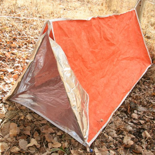 Emergency Zone Brand HeatStore Reflective Survival Tent