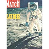 Paris Match N° 1058 : Lune. Numéro historique. 16 août 1969. (Espace, Etats-Unis, North America, Périodiques,...