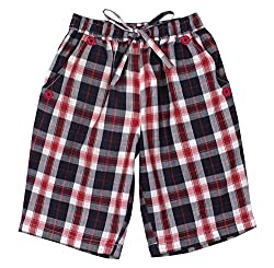 ShopperTree Boys' Regular Fit Shorts (ST-1646_2-3Y, Maroon, 2 to 3 years)