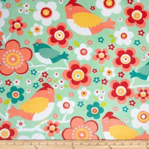 adorn-it-minky-cuddle-daisy-bird-juicy-fruit-fabric-by-shannon-fabrics
