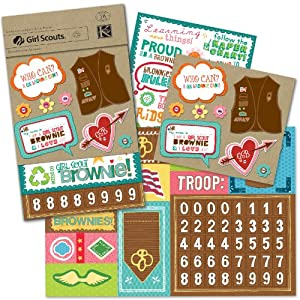 amazon   k amp company girl scout brownie scrapbook kit