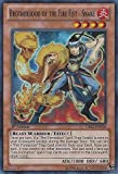 Yu-Gi-Oh! - Brotherhood of the Fire Fist - Snake (CBLZ-EN026) - Cosmo Blazer - 1st Edition - Super Rare