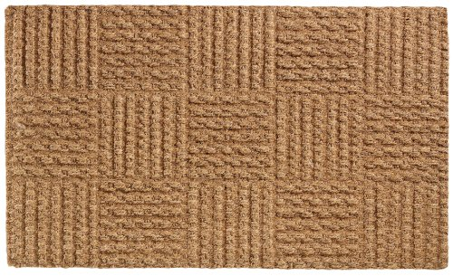 Extra Weave Low Clearance 18 by 30-Inch Coir Doormat