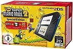 Nintendo 2DS - Konsole (Black) + New Super Mario Bros. 2