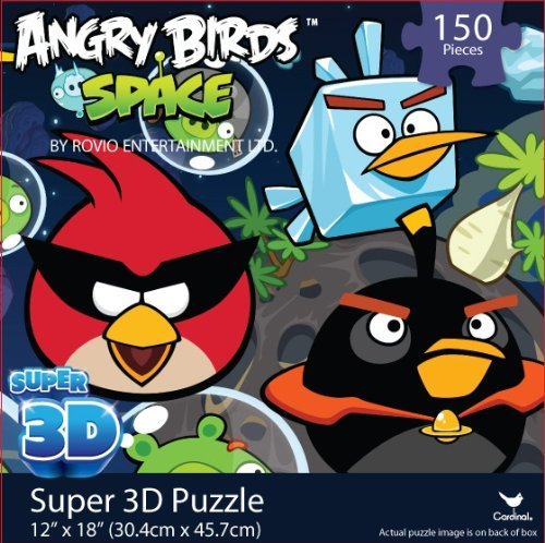 Angry Birds SPACE Super 3D Puzzle - 1