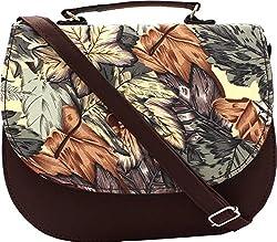 Rapidcostore Women's Sling Bag Brown RC-0558