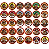 30-count Crazy Cups Flavored Coffee Single Serve Cups for Keurig K Cups Brewer Variety Pack Sampler