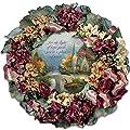 Collectible Thomas Kinkade Chapel Inspirations Wreath by The Bradford Exchange