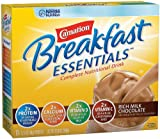 Nestle Carnation Instant Breakfast Essentials, Rich Milk Chocolate Powder, 10-Count Envelopes (Pack of 6)