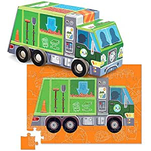 Crocodile Creek RECYCLE TRUCK PUZZLE