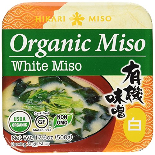 Hikari ORGANIC White Miso Paste - 1 tub, 17.6 oz by Hikari Miso (Miso Organic compare prices)