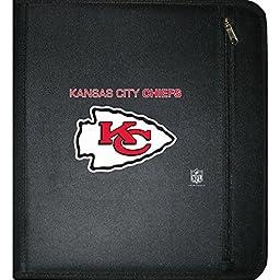 C.R. Gibson 3-Ring Zipper Binder, Kansas City Chiefs (N950528WM)