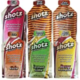shotzショッツエナジージェル(カーボショッツ) おためし6味 (45g×6個)