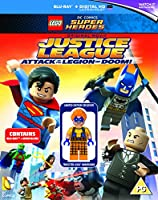 LEGO: Justice League - Attack of the Legion of Doom (includes Trickster LEGO Minifigure) [Blu-ray] [2015]