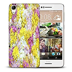 Snoogg Dreams Fields Flower Printed Protective Phone Back Case Cover For HTC Desire 728