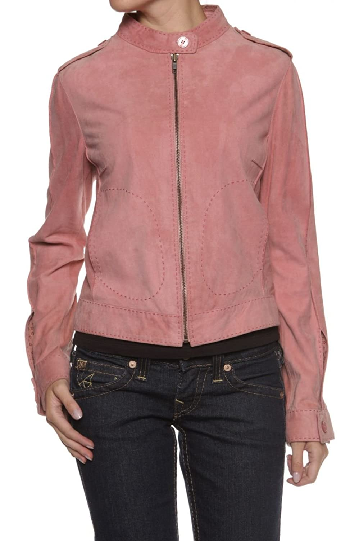 Cristiano di Thiene Damen Jacke Lederjacke IDA, Farbe: Altrosa kaufen