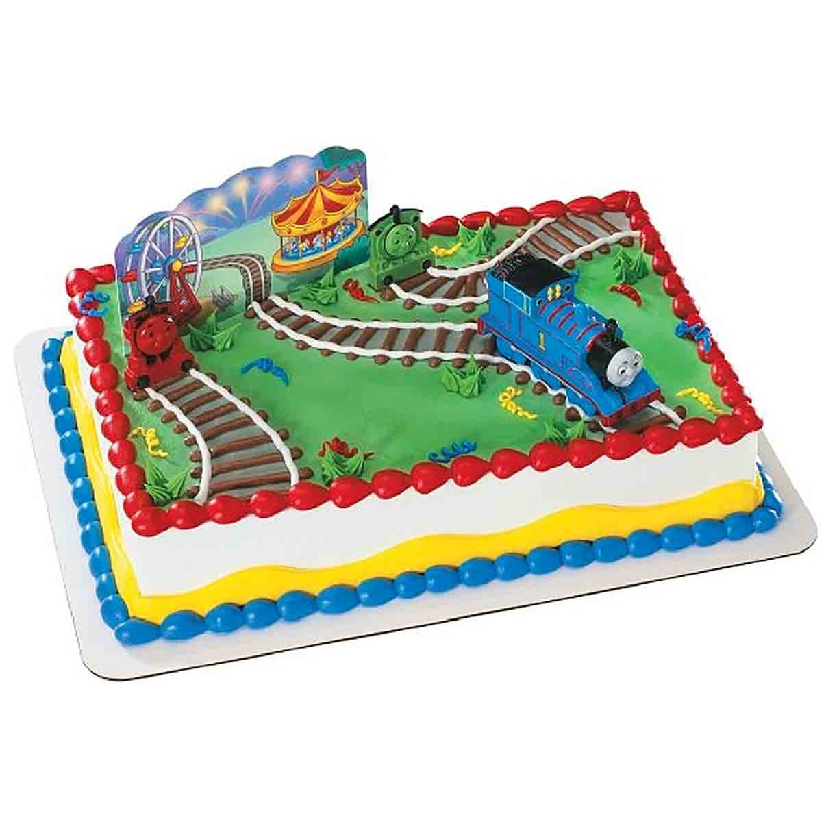 Thomas Tank Engine Cake Decoration Kit : Thomas Train Cake Decorations Car Interior Design