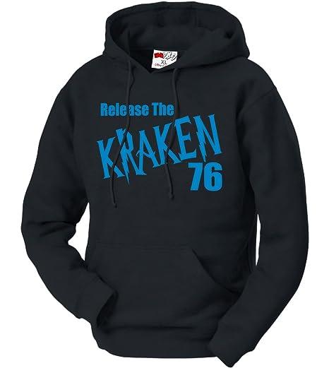 BeWild Brand® - Release The Kraken Adult Hoodie #1803-PS