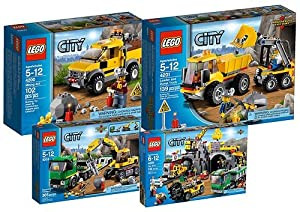 4204 Bons Les Micromonde Plans La Mine Lego City De L5R3jq4A