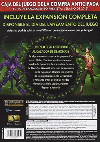 World Of Warcraft: Legion - Caja Precompra