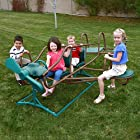 Lifetime Ace Flyer Teeter Totter, Earthtone Color
