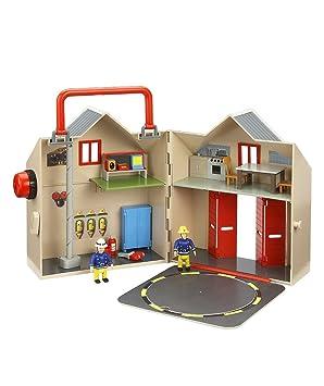 Fireman Sam Set de jeu grande caserne deluxe + 2 figurines
