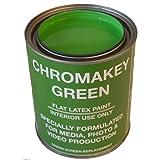 Chromakey Video Paint 1 Quart Green Screen Equivalent (Color: Green, Tamaño: 1 Quart (946 ml))