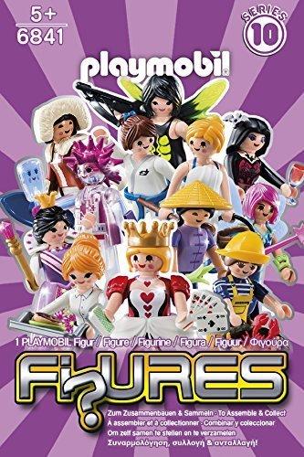 Playmobil - Mini Figures Girls (Series 10) by PLAYMOBILÃ'®